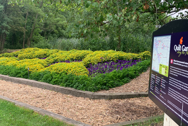 Quilt Gardens along the Heritage Trail