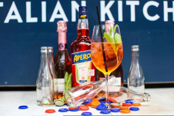 Aperol Spritz Kit. Courtesy of Juliet Italian Kitchen.