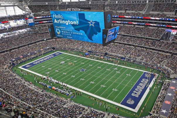 Medal of Honor AT&T Stadium