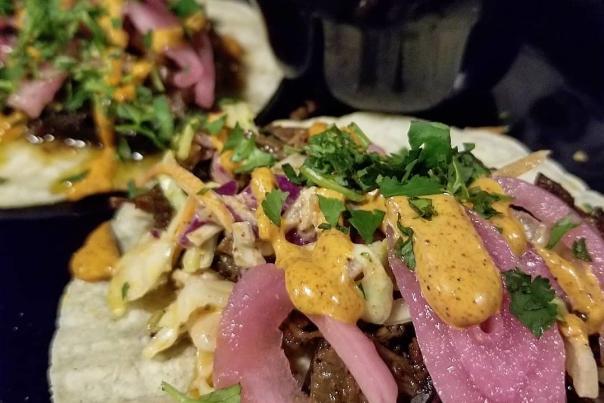 Blue Duck BBQ Tacos