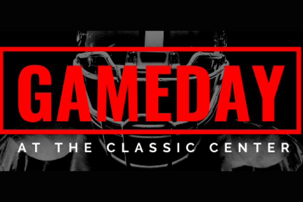 Gameday at The Classic Center header
