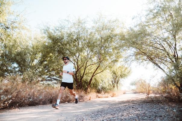 Active Lifestyle - Running at Veterans Oasis Park