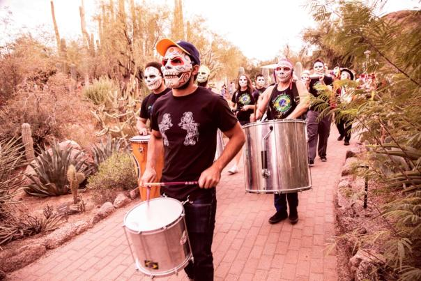 Dia de los Muertos Band at Desert Botanical Garden