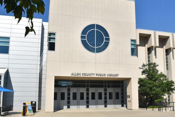 Allen County Public Library Exterior