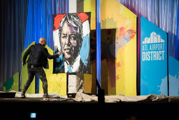 AAD Annual Meeting 2016_JCarter Painting