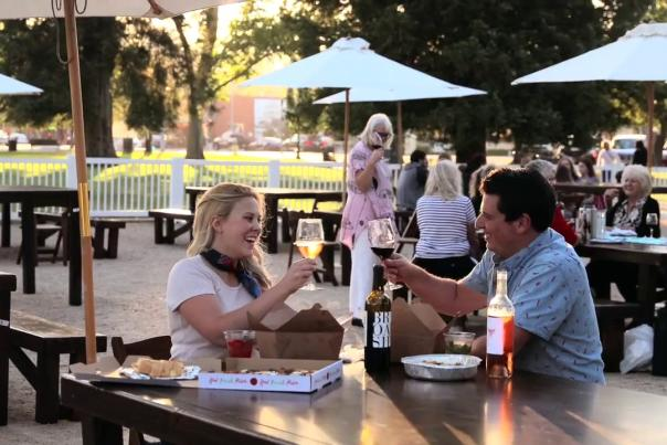 Video Thumbnail - youtube - Paso Robles Downtown City Park Dining Experience