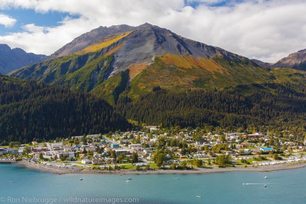 View of Seward from Above