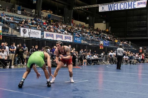 2021 NAIA Men's Wrestling National Championship at Hartman Arena