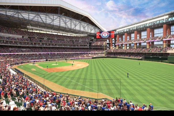Globe life Field - Right Field View
