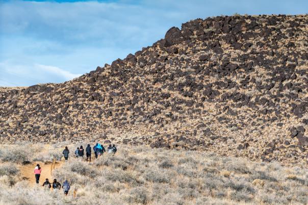 Wings of America runners at Rinconanda Canyon
