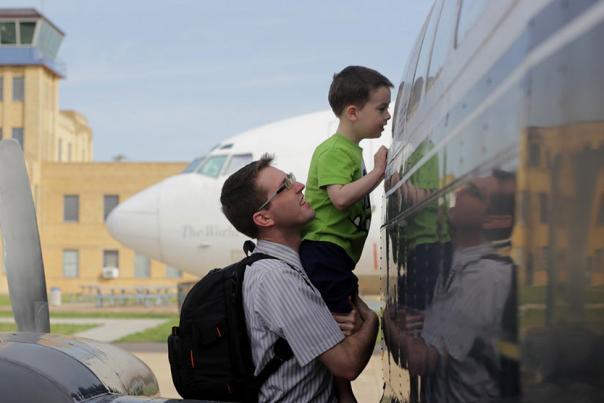 Exploring the Kansas Aviation Museum