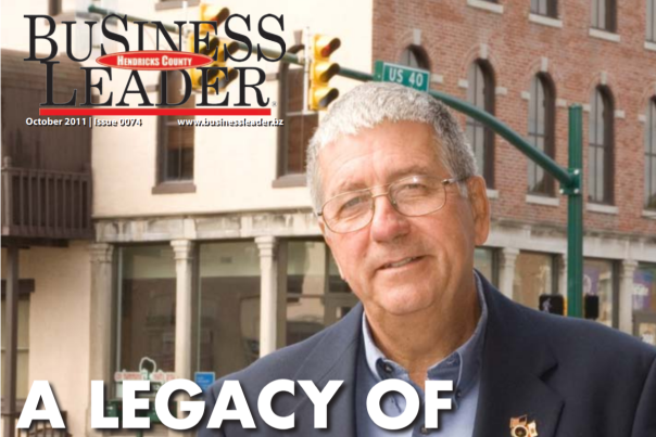 Kent McPhail on Business Leader cover