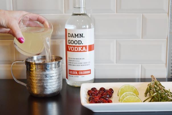 Damn Good Vodka Holiday Cocktails