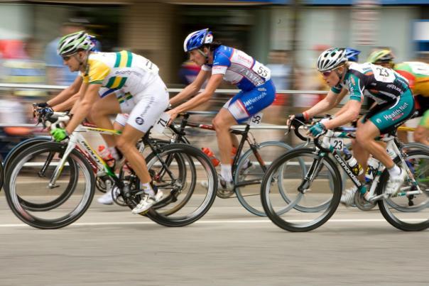 Twilight Criterium Cycling