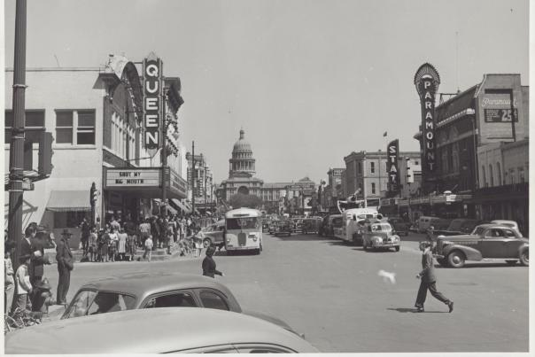 Congress Avenue. Courtesy of the Paramount Theatre.
