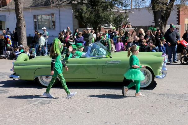 St. Patrick's Day Parade in Wichita