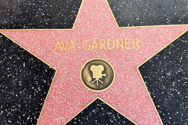 Ava Gardner's Star on the Hollywood Walk of Fame