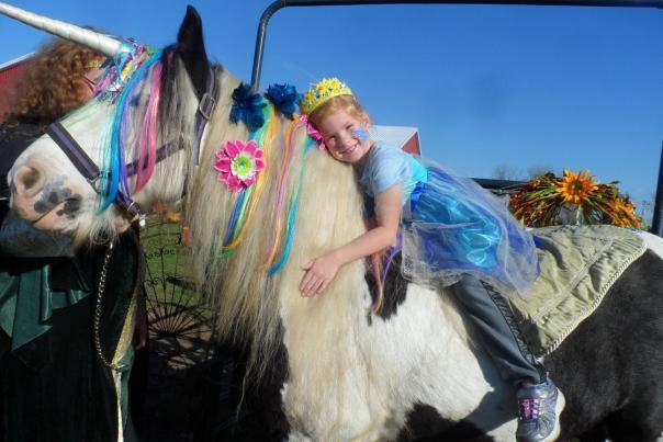 Central Indiana Enchanted Fairy Festival Unicorn