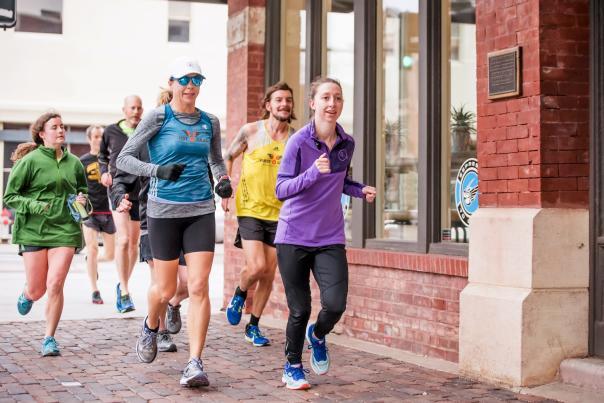 Running the Chisholm Trail Marathon
