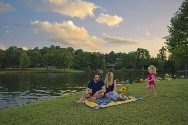 Lake Sinclair Family Picnic
