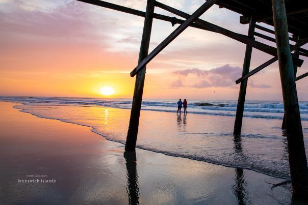 Sunset Beach sunrise October