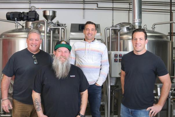 Founders of Rad Beer