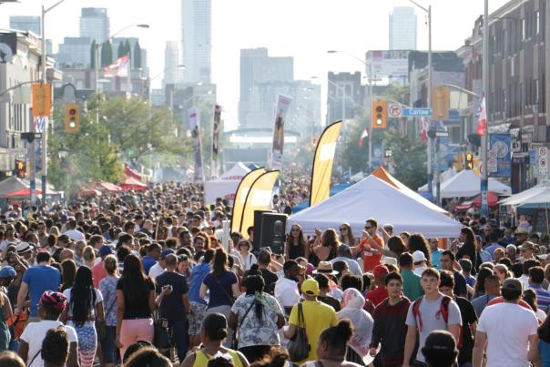 Taste of the Danforth is a yearly food and culture festival held in Toronto, in the Greektown area along Danforth Avenue