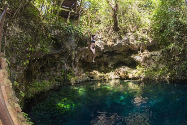 Ruta de los Cenotes-Cenote Zapote