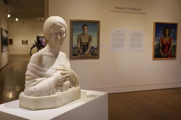 El Paso Museum of Art-Statue-H