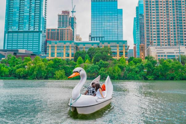 Capital Cruises Swan Boat. Credit Jessica Serna, My Curly Adventures_exp. Aug 16, 2022