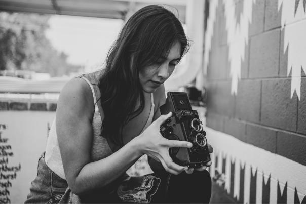 Shaandiin Tome shoots film the old-school way, New Mexico Magazine