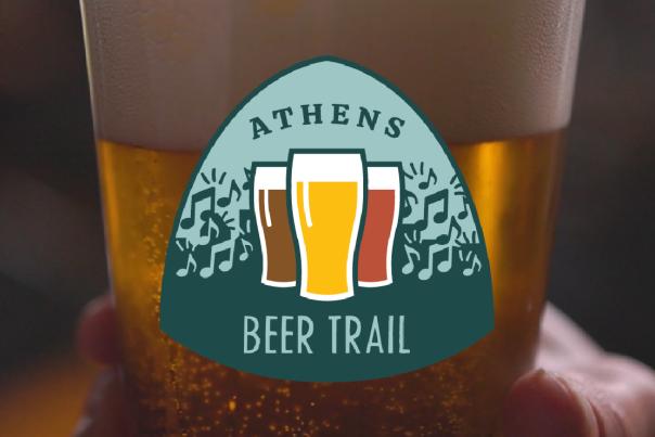 Athens Beer Trail logo image banner