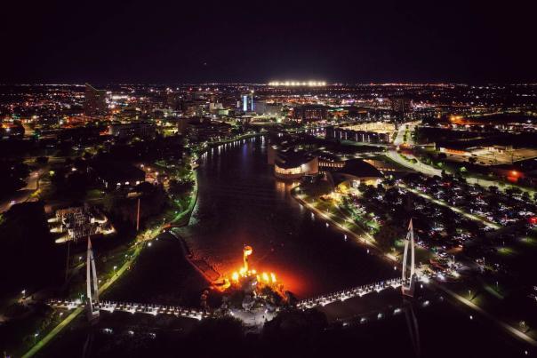 Wichita at Night
