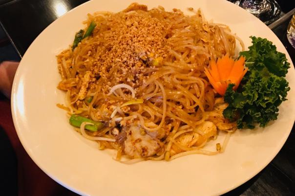 Pad Thai Chicken Bangkok kitchen