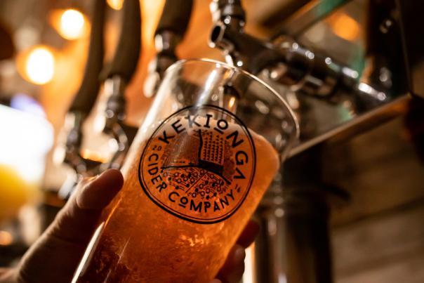 Hard Cider at Kekionga Cider Company