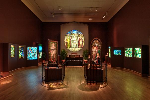 The Charles Hosmer Morse Museum of American Art Revival and Reform exhibit