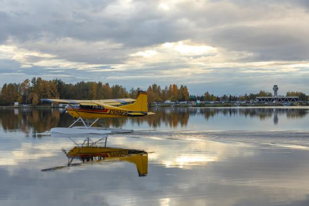 Lake Hood float plane - Photo by Chris Arend