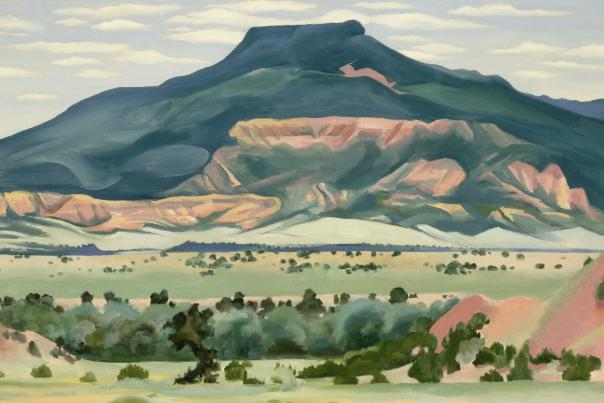 Georgia O'Keeffe's My Front Yard, Summer 1941 painting inspires our decor, New Mexico Magazine
