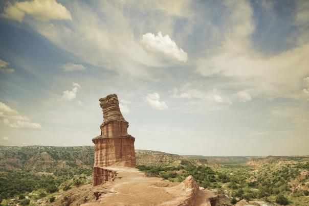 Palo Duro Canyon-Rock Formations-H