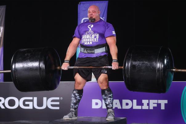 Brian Shaw World's Strongest Man WSM
