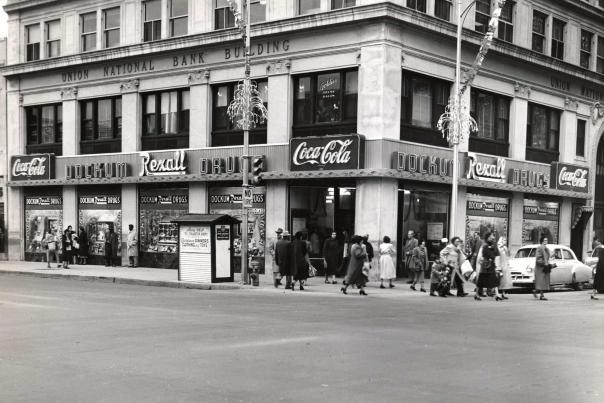 Dockum Drugs Rexall Store in Wichita Circa 1955