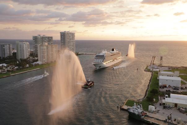 Viking Orion Arrives at Port Everglades
