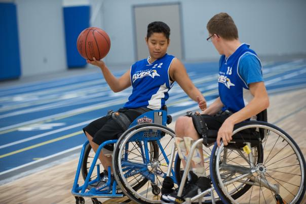 Turnstone - Wheelchair Basketball