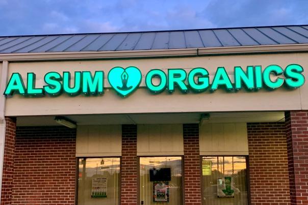 Exterior of Alsum Organics