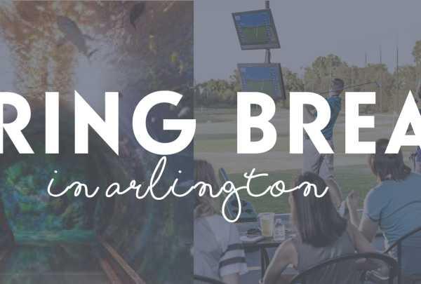 Spring break in Arlington
