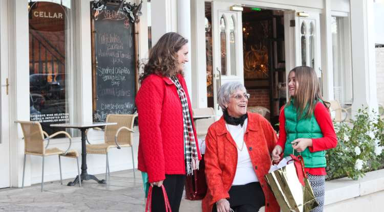 Christmas Shopping Vaudeville
