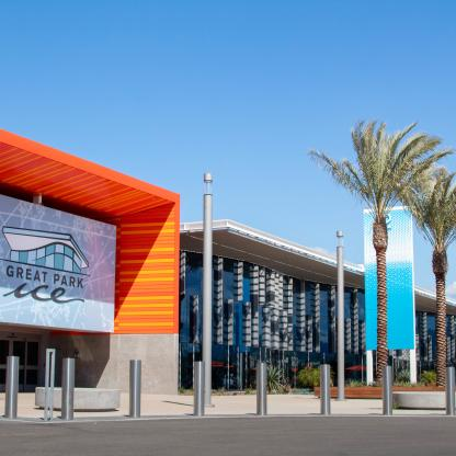 Great Park Ice and FivePoint Arena in Irvine