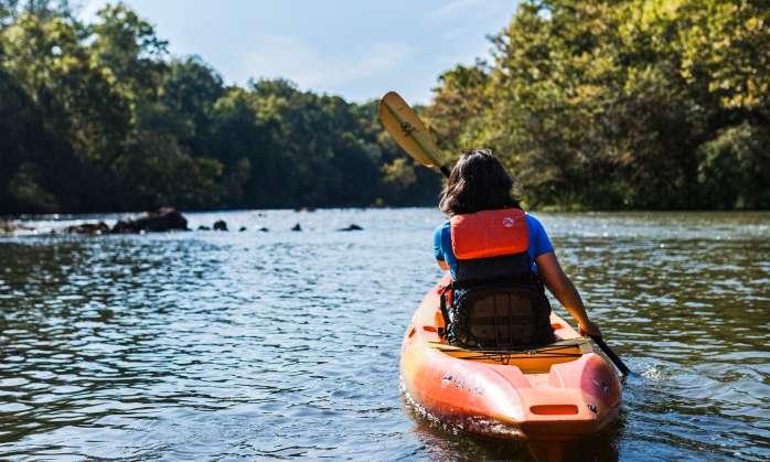 Women_kayaking_Saluda_Shoals_ECSC_Sept_2019_photo_by_Forrest_Clonts_001 Women Kayaking on the River