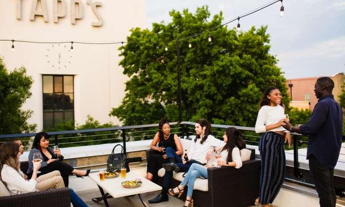 Happy Hour on Hendrix Rooftop