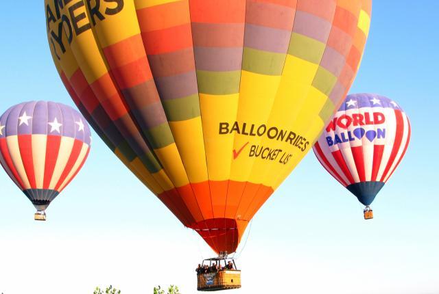 Albuquerque Hot-Air Balloons